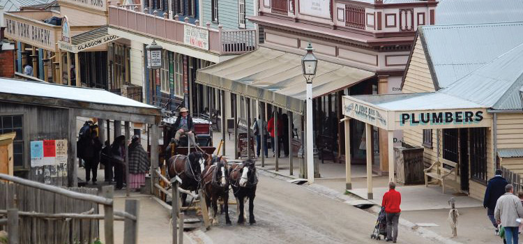 Sovereign Hill and Ballarat